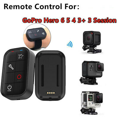 TELESIN Charging Waterproof WIFI Remote Control for GoPro Hero 6 5 4  Session 3+