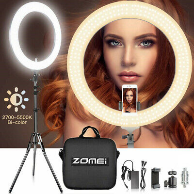 "14"" LED Ring Light with Stand Dimmable LED Lighting Kit For Makeup Youtube Live"
