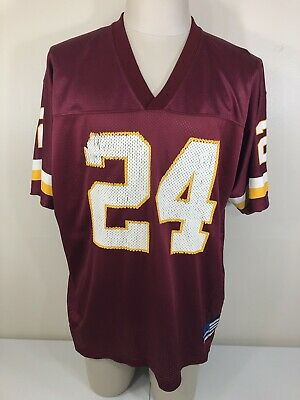 2437a72a0 Washington Redskins  24 Champ Bailey NFL Adidas Home Football Jersey Men s  XL