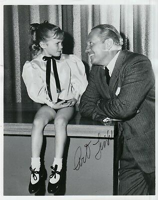 ART LINKLETTER signed ORIG 1961 CLOSEUP 8x10 uacc rd coa KIDS SAY DARNDEST THING
