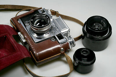 KIEV CONTAX III outfit..VERY NICE COLLECTORS SET + 35mm / finder etc. COMPLETE