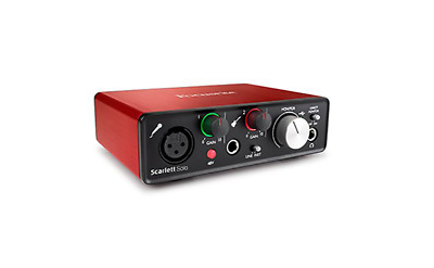 Scarlett Solo 2nd Gen Audio Interface includes Ableton Live Lite
