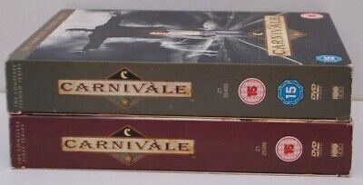 Carnivale Complete Collection Season Series 1 2 One Two 1-2 uk region 2 DVD HBO