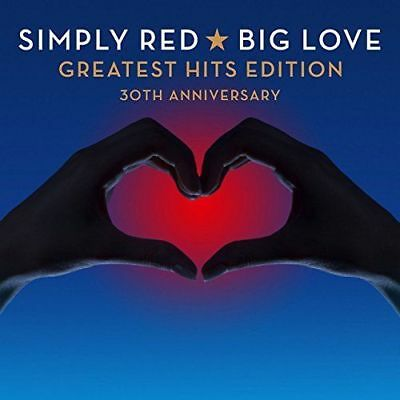 Simply Red - Big Love: Greatest Hits Edition 30th Anniversary [New & Sealed] 2CD