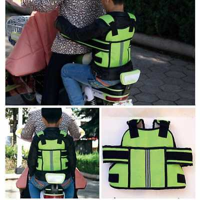 Children Motorcycle Bicycle Bike Safety Seat Belt Strap Harness Adjustable FAST