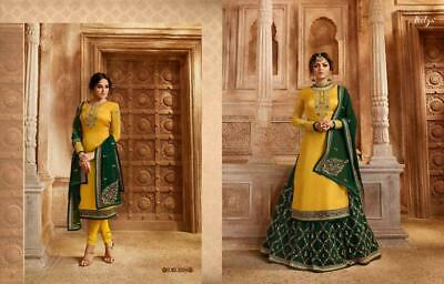 Designer Salwar Kameez Suit Indian Pakistani Traditional Anarkali Lengha Suit KB