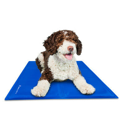 Gel Cooling Mat Pillow Pad For Dog Puppy Cat Pet Summer Heat Relief Bed 4 Sizes
