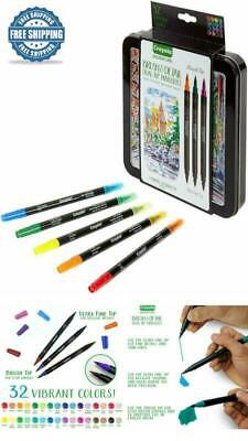 Calligraphy Set Strater Kit Hand Lettering Practice Pens Dual Tip Fine Marker