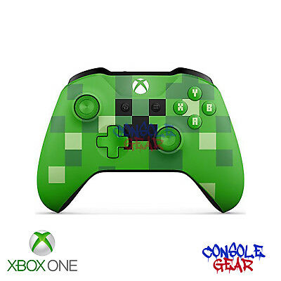 Xbox One Genuine Official Wireless Controller - Minecraft Creeper