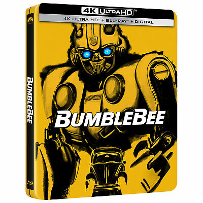 Bumblebee Steelbook 4K Ultra HD + Blu-ray Combo Best Buy Exclusive Pre-Order