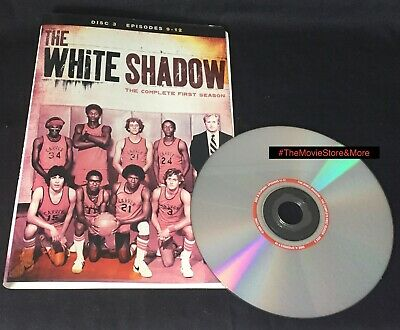 """THE WHITE SHADOW - First Season 1 * DISC 3 """"Replacement"""" DVD ~ *DISC ONLY (k)"""