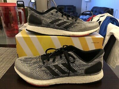 best sneakers 0878f 906a1 2018 ADIDAS PureBoost DPR S80993 Core Black Running White Size 12 Shoes Used