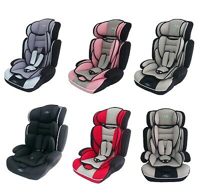 Bebe Style 3in1 Convertible Child Baby Car Seat Safety Booster Group 1/2/3 9-36