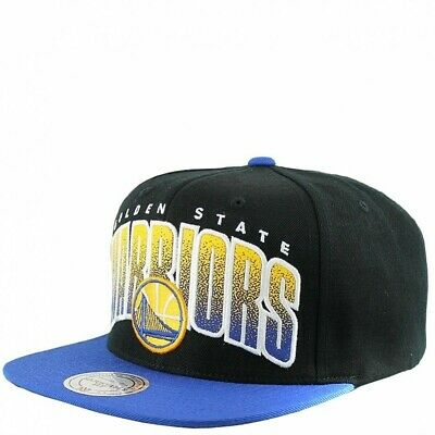 Golden State Warriors Homme Snapback Basketball Noir Mitchell & Ness Noir