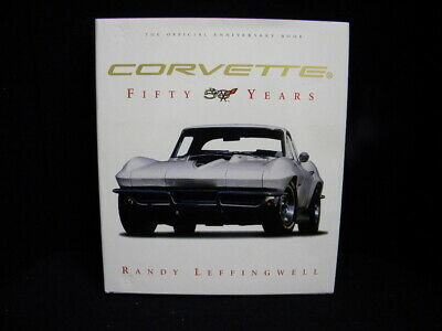 Corvette 50 Years Book - Randy Leffingwell 2002 by Motor Books (Hard Back)