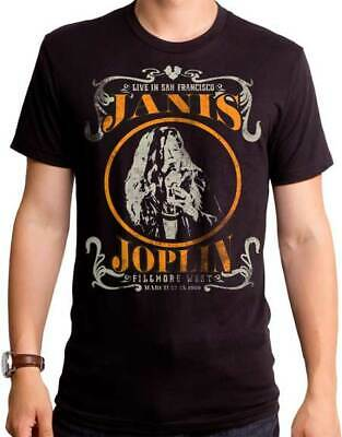 JANIS JOPLIN Live Circle T SHIRT S-2XL New Official Goodie Two Sleeves Merch