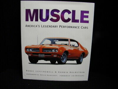 MUSCLE America's Legendary Performance Cars - Randy Leffingwell (2006 Hard Back)