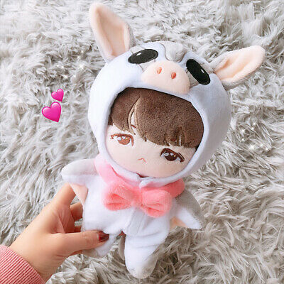 KPOP EXO BTS Plush SUGA RM JIN Doll's Clothes Dope-Closet Cute Coverall【no doll】