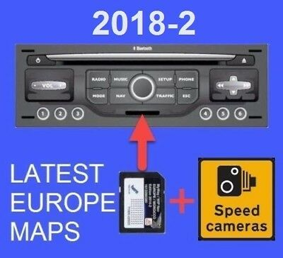 2018-2 Citroen Peugeot Sd Card Gps Navi Update Europe Uk Maps Rneg Myway Wipnav