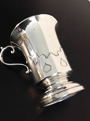 Antique Silver Arts and Crafts Cup, Hallmarked 1913.