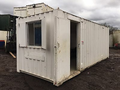Site Office Cabin Welfare Container 20ft x 8ft Portable Steel Building