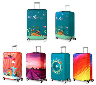 """Luggage Suitcase 18""""-32"""" Elastic Dustproof Thicker Travel Trolley Case Cover Bag"""
