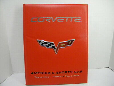 Official GM Licensed Product Corvette America's Sports Car 2006 Hard Back Book