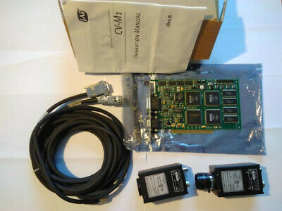 Lot 2 Mega Pixel Progressive Scan Camera CV-M1 + carte PCI
