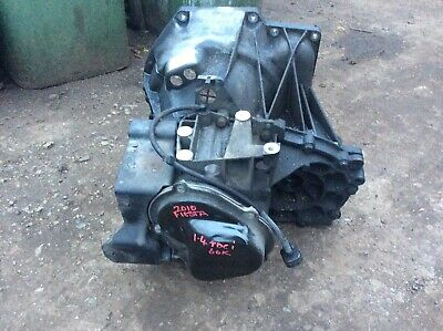 FORD FIESTA GEAR BOX  14 TDCI  5 SPEED REMOVED FROM 2010 CAR WITH 60k