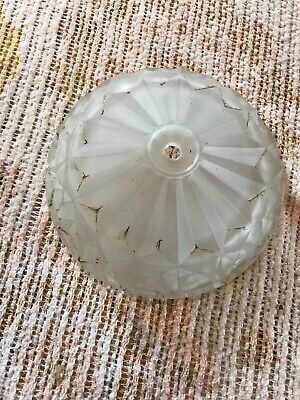 Ss 11 Antique Slip Shade Glass Bowl For Chandelier 7 7/8 X 2.5