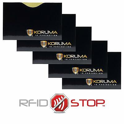 Rfid Blocking Paypass Credit Debit Card Protector Id Theft Protection Sleeve