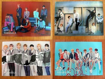 BTS LOVE YOURSELF ANSWER '結' OFFICIAL POSTER (4 Poster Set) [POSTERS ONLY]