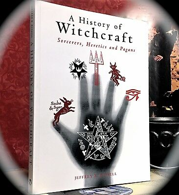 Russell: History Of Witchcraft: Sorcerers, Heretics & Pagans ~ 2002 Sc ~ Occult