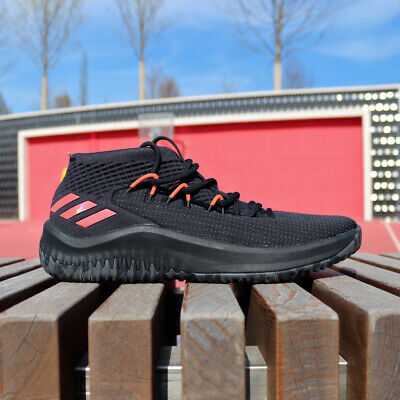 new concept d4d31 23874 adidas Dame 4 BB9242 DAME TIME Black Red Lillard Dolla Blazers Basketball  NEW DS