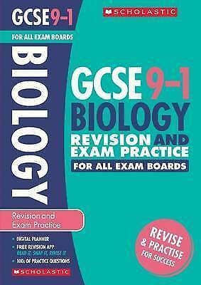 Biology Revision and Exam Practice for All Boards (GCSE Grades 9-1) New Book