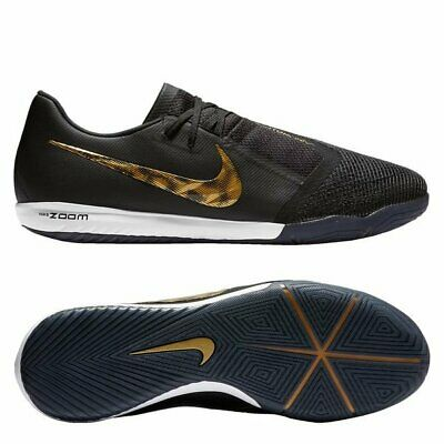 462f6e7a3 Nike Air Zoom Phantom VNM Venom Pro IC Indoor 2019 Soccer Shoes Black   Gold