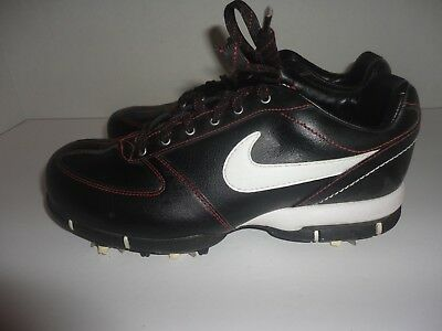 Women s Nike Sport Performance Golf Shoes T.A.C. Black Red 314914-016 Size 6 f97c88d7a