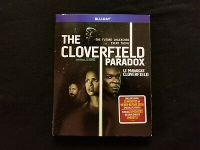 The Cloverfield Paradox Blu Ray W/Slipcover, Lot D3.