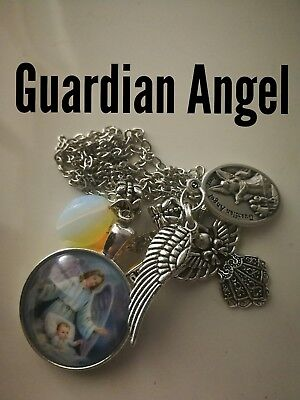 Code 377 Guardian Angels your protector n guide Holy Communion Confirmation Gift
