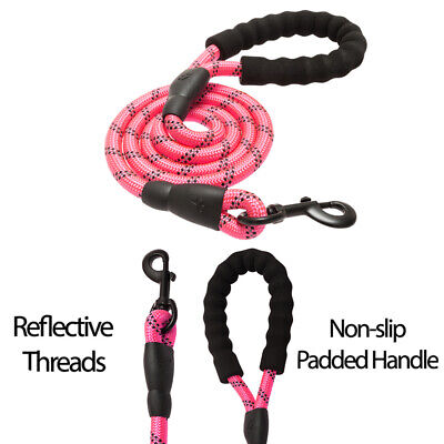6 FT Dog Leash Heavy-duty Reflective Rope for Large Medium Dogs Training Walking