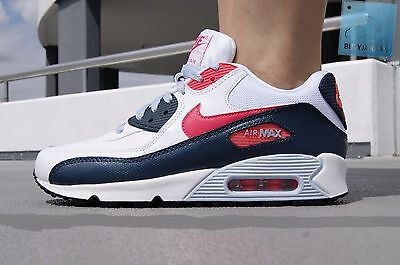 NIKE AIR MAX 90 2007 YOUTH(GS) Size 5Y 345017 117 WhiteAtmc