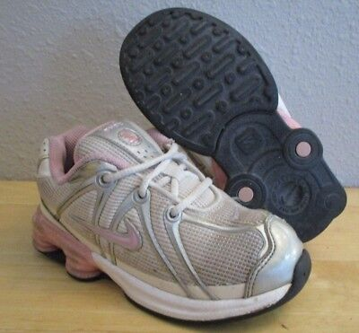 RARE 2009 Nike Shox Turbo NZ Classic Grey Pink Silver Girls Running Shoes sz  9C 54a0a68d6
