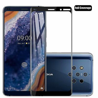 5D Full Coverage Tempered Glass Screen Protector Film Guard for Nokia 9 PureView