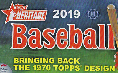 2019 Topps Heritage Short Print SP You Pick a player list lot Baseball cards