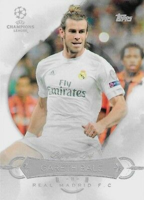 2015-16 TOPPS CHAMPIONS LEAGUE SHOWCASE Gareth Bale Madrid Best of the Best Card