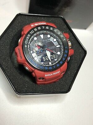 dd2d9615c77 G-Shock Gulfmaster Rescue Red Series GWN-1000RD-4AJF Rare color