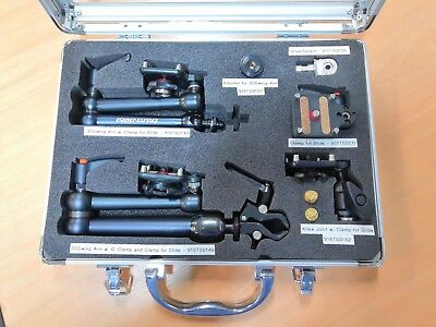 Transvideo Accessories Demo Package 3D Swing Arms Monitor Clamp for Slide Spigot