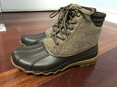 c638e877fa3 SPERRY TOP-SIDER MEN'S Rain Boot Boots Size 7.5 STS17577 Avenue Duck ...