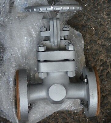 "KITZ UMAMY 1 1/2"" IN  SS CF8M flanged gate valve DN40 Cl 600"