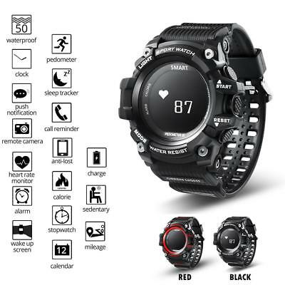 T1 Smart Sport Watch Heart Rate Monitor IP68 Waterproof For Android IOS Phone